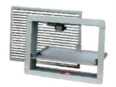 КЛАД-2 с BELIMO и декоративной решеткой
