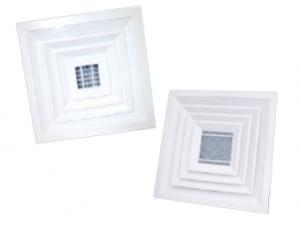 Потолочные четырехсторонние диффузоры 4АПН-П, 4АПР-П, 4АПН-С, 4АПР-С