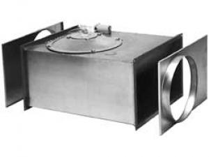 Канальные вентиляторы для прямоугольных каналов (RK/RKC)