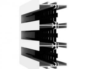 Решетка вентиляционная щелевая РЭД-АДЛ-КЗ
