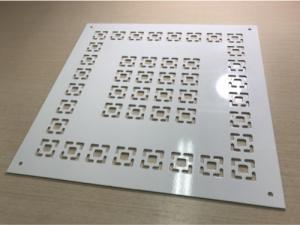 Декоративная решетка алюминиевая РЭД-АЛЮ2