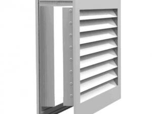 Переточная решетка для дверей РЭД-АП