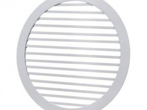 Круглая жалюзийная решетка РЭД-КР2-ЛР1 с сеткой