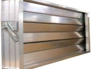 Алюминиевая заслонка с ручным приводом РЭД-КВАЛ-Р