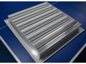 Вентиляционная решетка наружная декоративная РЭД-Р100