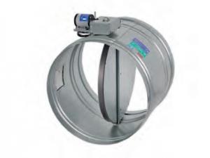 Клапан КЛОП-2 круглого сечения