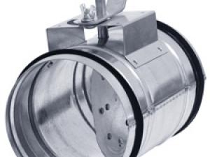 Клапан для круглых воздуховодов КВК-...P