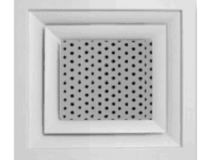 Перфорированный потолочный диффузор РЭД-4ПР-ПФ