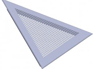 Решетка треугольная вентиляционная перфорированная РЭД-ПФТ29