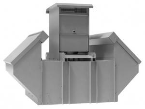 Крышные вентиляторы дымоудаления ВКРВ и ВКРС
