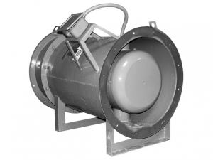 Вентилятор думоудаления осевой ВОД-ДУ